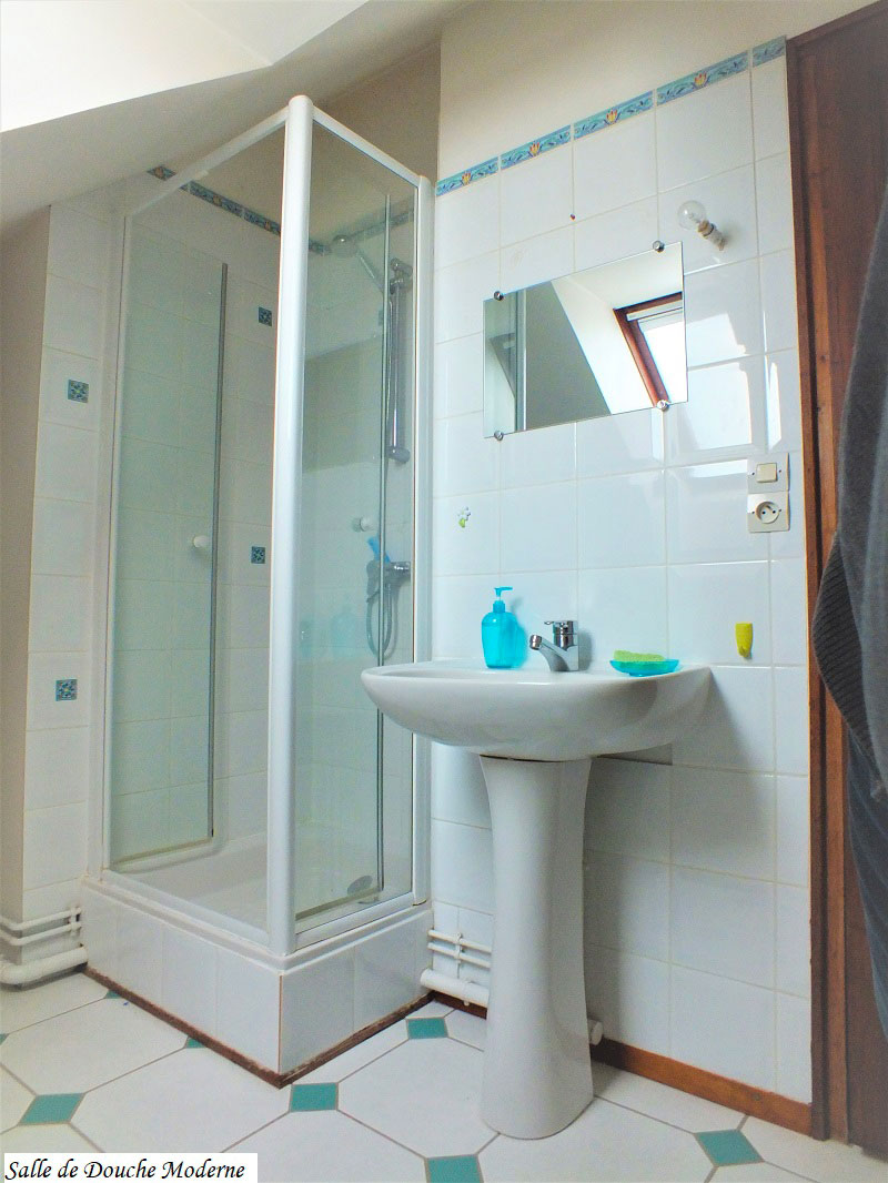 Salle de douche moderne Les 3 Escales Mosnes